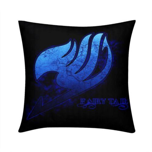 Fairy Tail Anime Cushion Cover Square Throw Pillow Case Waist Car Couch 16 18 20