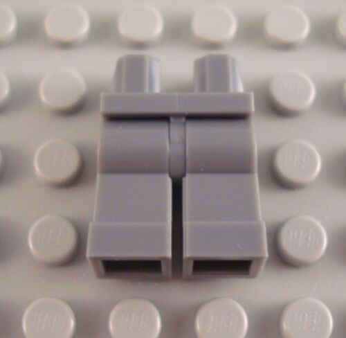 NEW LEGO Dark Bluish Gray Minifig Legs Body Part