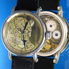 GIRARD-PERREGAUX Watch, Hand Engraved Swiss Vintage Movement, Puma Gems Dial