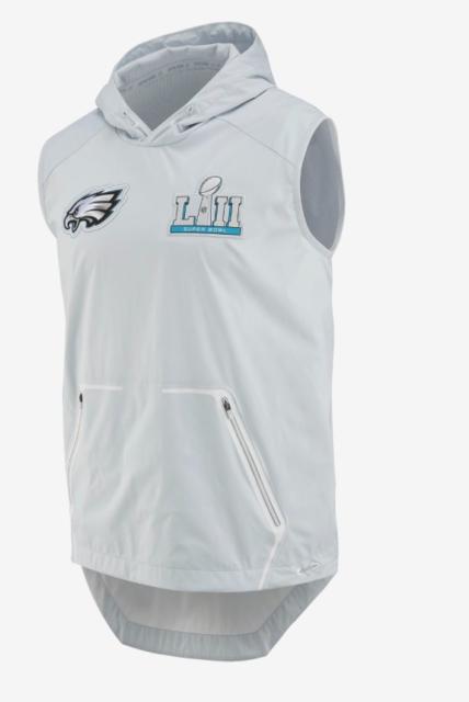 innovative design 2cacc c6309 Nike Alpha Fly Philadelphia Eagles Super Bowl 52 Vest Av9988 043 Men's Small