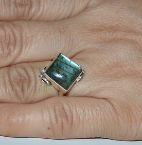 Labradorite-925-Solid-Sterling-Silver-Handmade-Ring-US-LBR-001