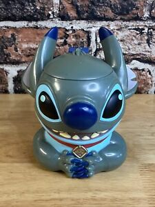 Disney-On-Ice-Lilo-amp-Stitch-3D-Stitch-Mug-cup-With-Hinged-Flip-Lid