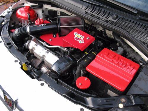 Fiat 500 Abarth Rouge Pop Off Couvercle du Filtre