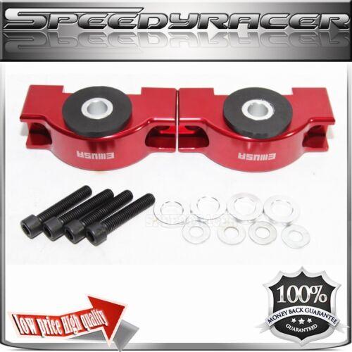 ENGINE TORQUE MOUNT KIT RED for 92-00 Civic 94-01 Integra 93-97 Del Sol Billet