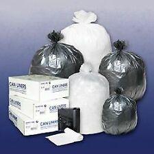 6 Mic 24x24in-Case of 1000 Trash Bag Colonial Bag Light Duty Clear 10 gal