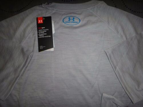 UNDER ARMOUR HEATHER GRAY TECH SHIRT 2XL XL L MEN NWT $$$$
