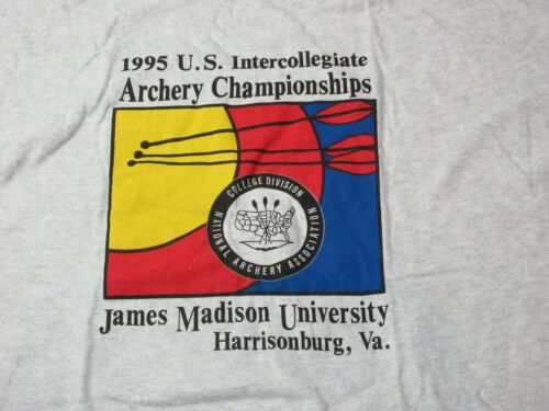 Mens Vintage 1995 ARCHERY Intercollegiate Champion
