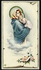 "santino-holy card""""ediz. NB serie P.2537 MADONNA DEL RIPOSO"