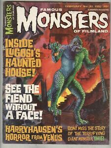 Famous-Monsters-of-Filmland-37-February-1965-VG