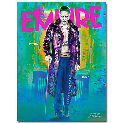 Suicide Squad Movie Silk Poster 12x18 24x36 inches Harley Quinn Joker 006