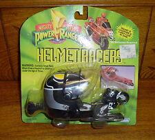 1994 Black Power Rangers Helmet Racer Marchon 22861
