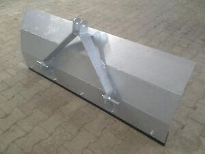 Schneeschild-Raeumschild-Planierschild-fuer-Kleintraktor-verzinkt-neu-150-cm-breit
