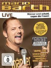 MARIO BARTH - MÄNNER SIND SCHULD,SAGEN DIE FRAUEN  (2 DVD) COMEDY/KABARETT NEU