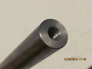 "Rod Tapped 1//2/"" Bar 1/""  Steel Shaft 13 both ends      12/"" Long"