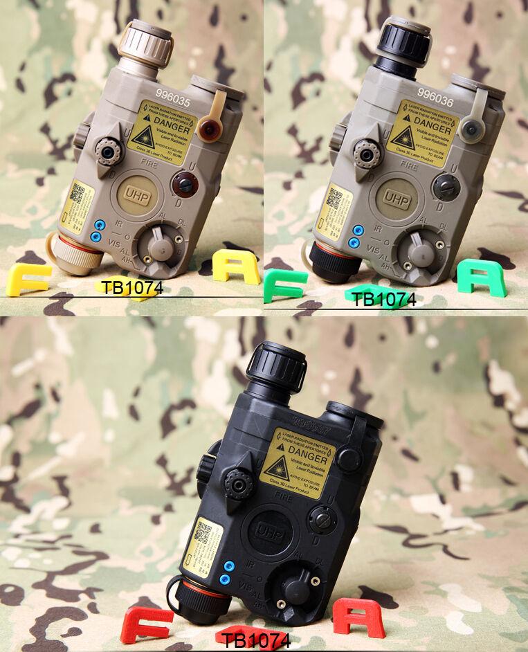 FMA PEQ LA5-C Upgrade Version LED blanco Light+rojo Laser with IR Lenses TB1074