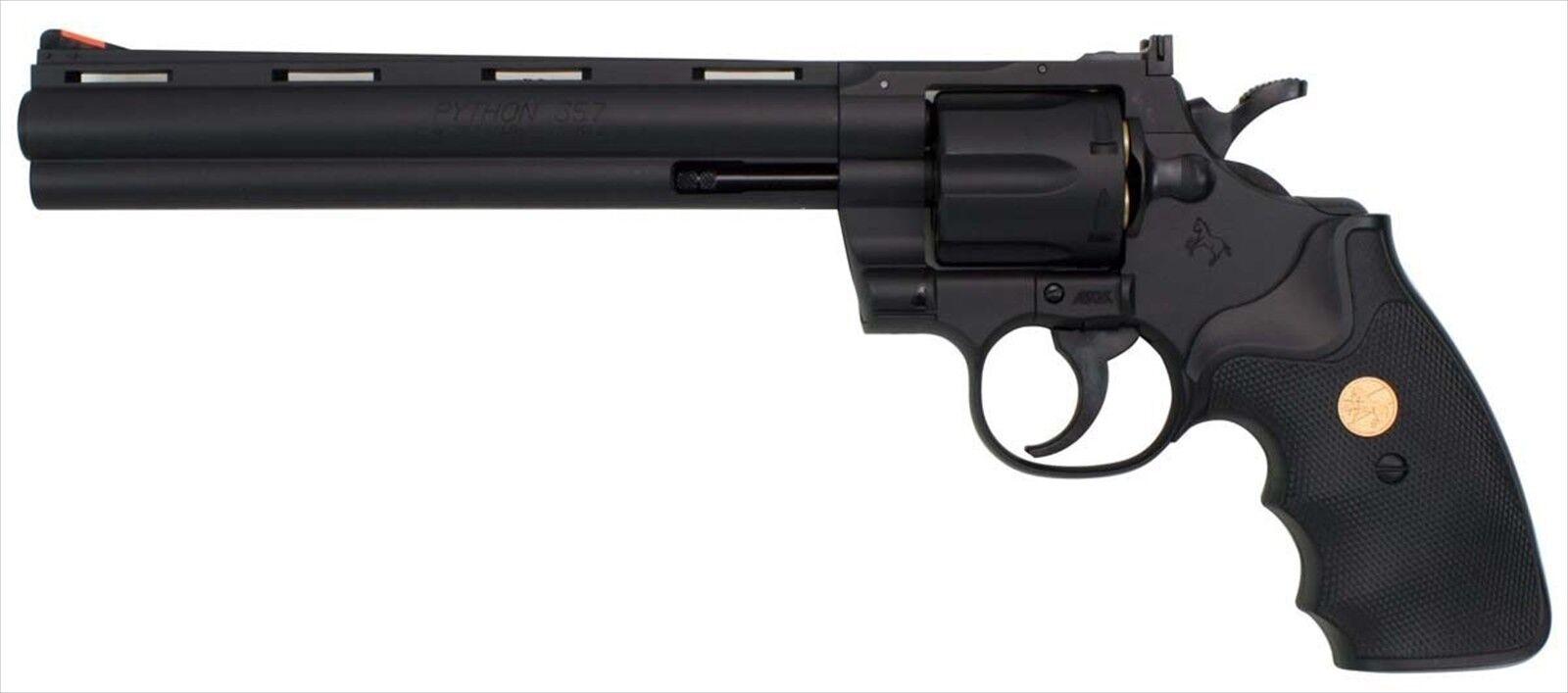 hasta un 50% de descuento Python Colt Hunter 357 Magnum 8 in (approx. 20.32 cm) cm) cm) Negro Pistola de aire No18 Corona Modelo Japan F S  precios al por mayor