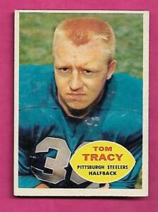 1960-TOPPS-95-STEELERS-TOM-TRACY-ERROR-EX-MT-CARD-INV-C0516