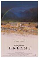 Dreams Movie Poster Rainbow 26x38 Akira Kurosawa