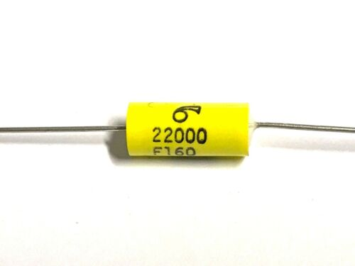 22nF Arcotronics 1.48MKP 10 Stück MKP-Kondensator axial 22000pF 160V 1/%