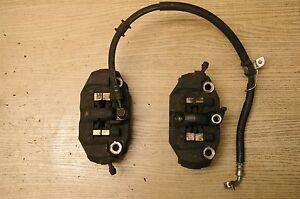 Suzuki-GSX-R-GSXR-600-750-2006-2007-Pinzas-De-Freno-Delantero-almohadillas-Manguera