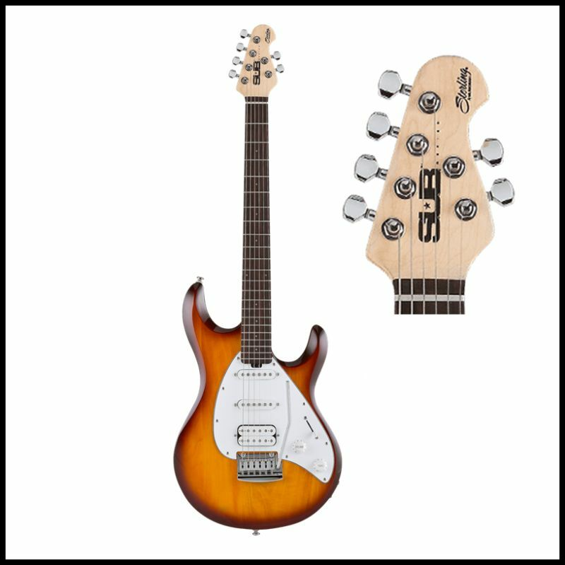 Sterling S.U.B by Music Man Silo3 Electric Guitar Tobacco Sunburst
