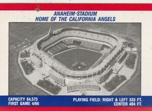FREE-SHIPPING-MINT-1988-FLEER-ANAHEIM-STADIUM-HOME-OF-THE-CALIFORNIA-ANGELS