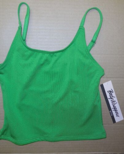 Bodywrappers spandex Dance Camisole top Many colors adjustable strap ladies szs