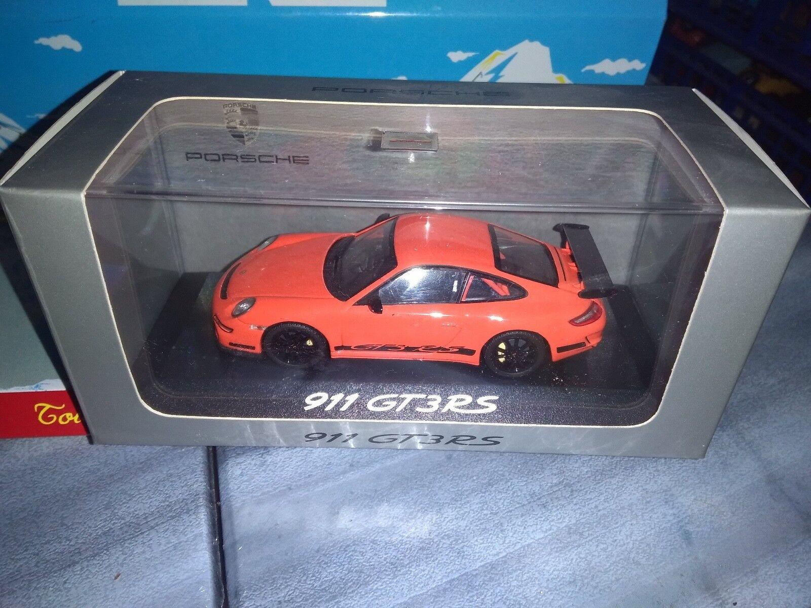 PORSCHE DESIGN 1 EN 43 PORSCHE 911 GT3 RS NEUF EN 1 BOITE 49c05f