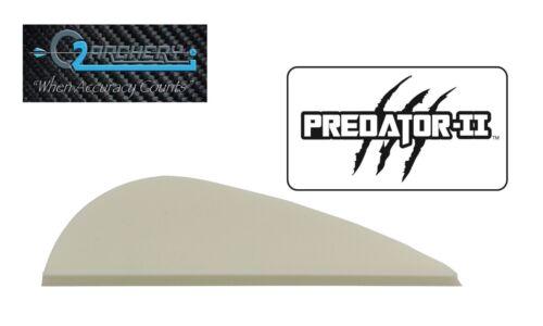 "Predator-II aubes pqt 50 *** Quand précision compte *** blanc 2.0/"" Q2I"
