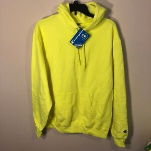 Sweatshirt New Hoody About Neon Green Hoodie Yellow S Champion Sz M Volt Details Nwt H29EIWDY