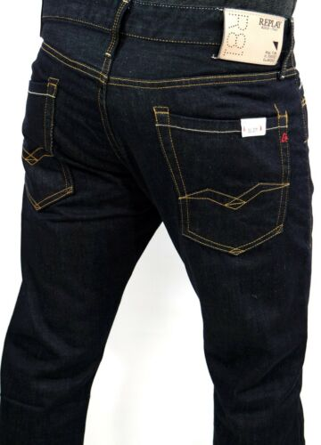 W34 Dark Slim W11807007 W36 Jeans M983 Waitom W30 W32 Regular Men l32 38 Replay XavPqq