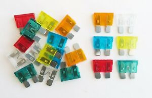 ATO Pattern Mixed 20 Pack 5 10 15 20 25 30 Amp Standard Automotive Blade Fuses