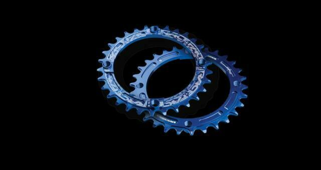 Raceface Narrow Wide Chainring 104mm BCD 32t Blue for sale online