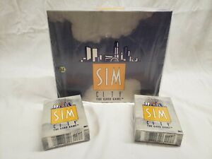 sim-city-the-card-game-2-Starter-Decks-and-36-pack-Booster-Box-Factory-Sealed