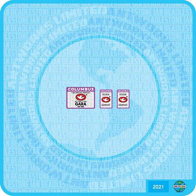 Columbus GARA Bicycle Decal Transfer Sticker Set 21