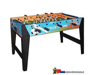 Garlando Forsoccer - Baby-foot de table F-zero avec enchères de jeux de football graphique Rient