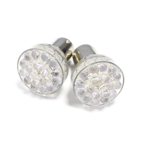 2x Peugeot 207 P21W Ultra Bright White 24-DEL inverse Lampe Ampoules