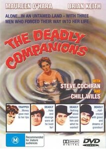 The-Deadly-Companions-Maureen-O-039-hara-All-Regions-Brand-New-Sealed-Free-Postage