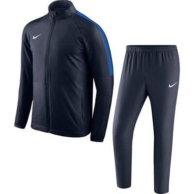 Diszipliniert Nike Academy 18 Woven Track Suit Herren Trainingsanzug Dunkelblau 893709-451 Neu