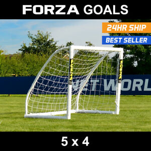 40181d0bb FORZA Match Football Goal | 5ft x 4ft | Kids Football Goal | Small ...