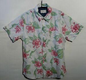 """BC LONDON Hawaiian shirt UK M US S  40"""" 102 cm HAJ59"""