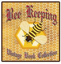 470 Rare Bee Keeping Books Guide on DVD Hive Queen Bees Honey Wax Smoker Veil E9