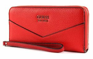 GUESS-Colette-SLG-Large-Zip-Around-Tomato