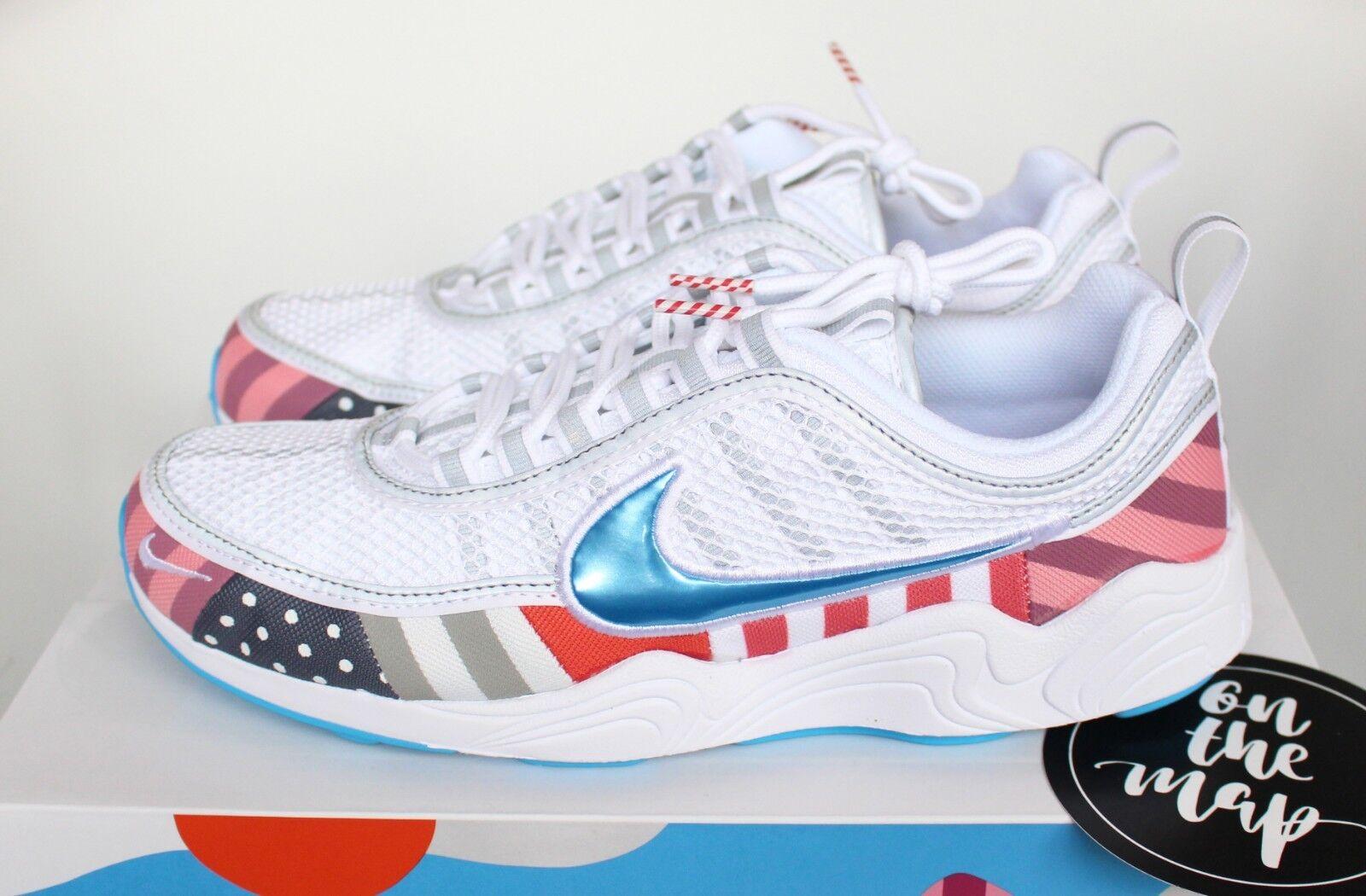 separation shoes cd8b3 aa4fa Nike x Parra Air Zoom Spiridon multi Blanco multi Spiridon av4744-100  nosotros nuevos zapatos para hombres y mujeres, el limitado tiempo de  descuento e840e0