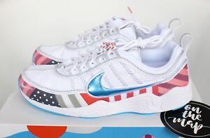 Nike x Parra Air Zoom Spiridon White Multi AV4744-100 UK 5 8 9 US ... 5b89bf557