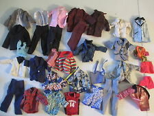Huge Lot of Mixed Vintage Barbie & Friends Ken Fashion Doll Clothes Outfits