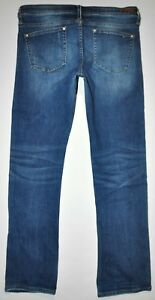 Distressed Pilcro Anthropology Femme Taille Stretch Selvage X Blue 29 32 5 Jean AwPBw7xq