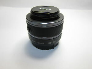 Schwarz-Nikon-1-Nikkor-10-30-mm-F-3-5-5-6-Zoom-VR-Objektiv-fuer-j1-j2-j3-j4-v1-v2