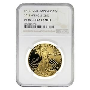 2011-W-1-oz-50-Proof-Gold-American-Eagle-NGC-PF-70-UCAM