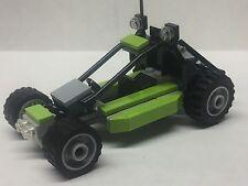 LEGO, CITY Custom Dune Buggy Lime Green! Off-road Racer